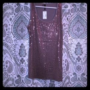 New tank with sequins, Maurice's